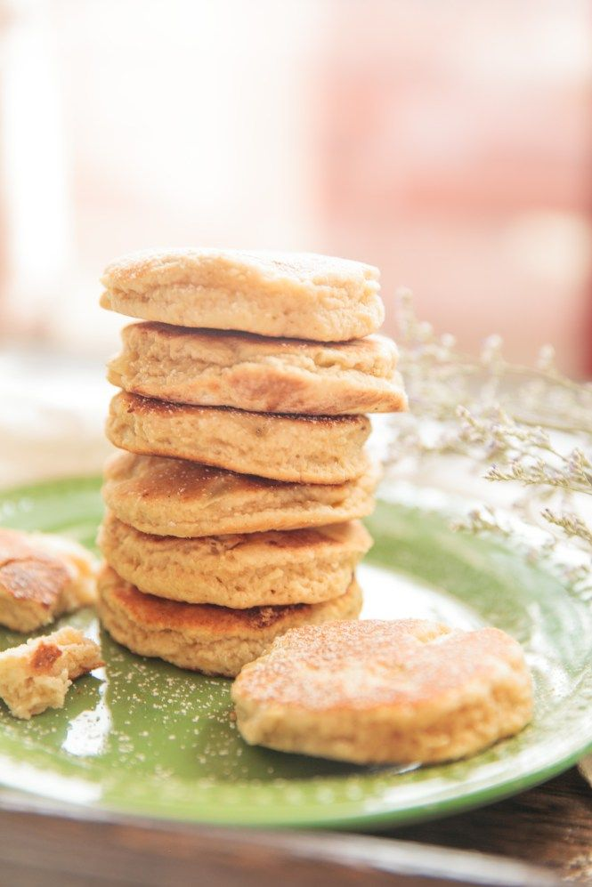 Apple Dragon Welsh Cakes - It's Raining Chocolate Chips and Toffee Bits