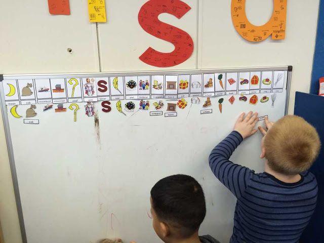 Whiteboard in de kleuterklas