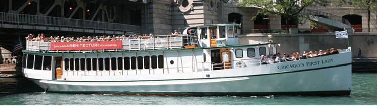 Taking one of the Chicago Architecture Foundation's fascinating boat tours is a great way to see & learn about Chicago. Book a cruise with your Experience Designer when you visit us!