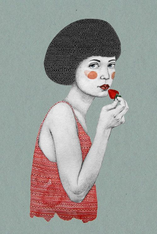 On the blog today: illustrations by Sofia Bonati http://www.artisticmoods.com/sofia-bonati/