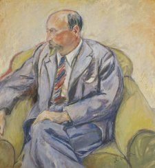 Ambrose Hallen, 1937 by Lina Bryans