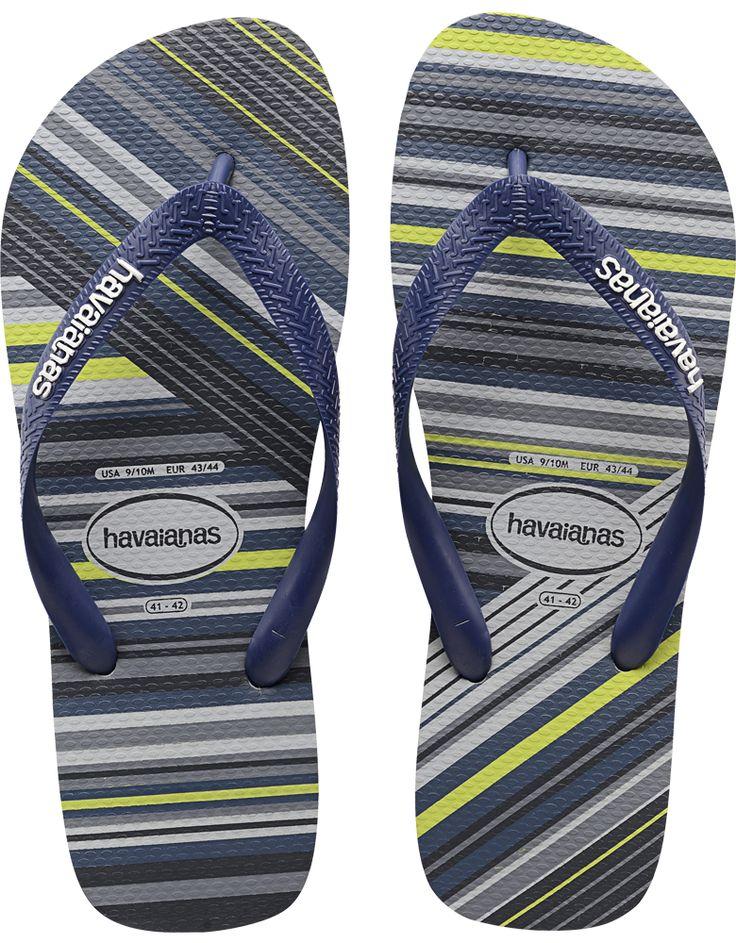 Striped Flip Flop for Men - The Trend Flip Flop - Havaianas