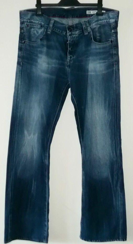 Tommy Hilfiger Denim Rogar Bootcut Men's Jeans W38 L32 #TommyHilfiger #Bootcut