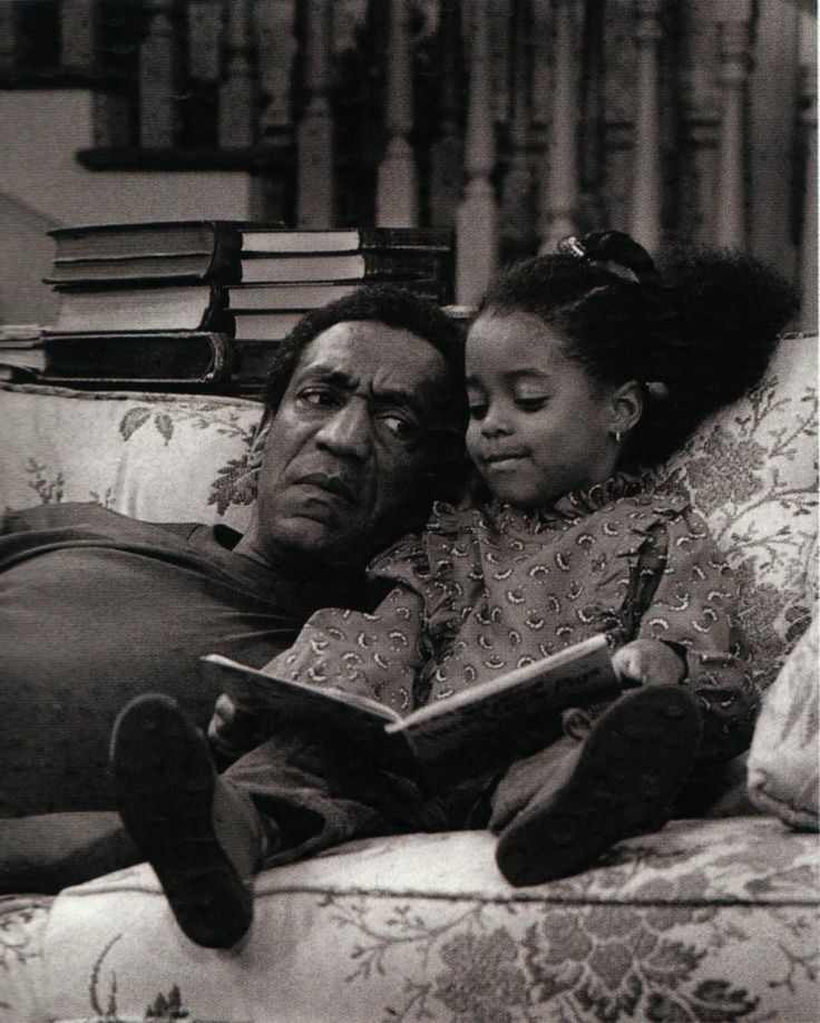 Reading on the Bill Cosby Show.