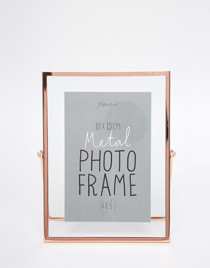 2x paperchase copper photo frame 4x6 22 i loveeee this