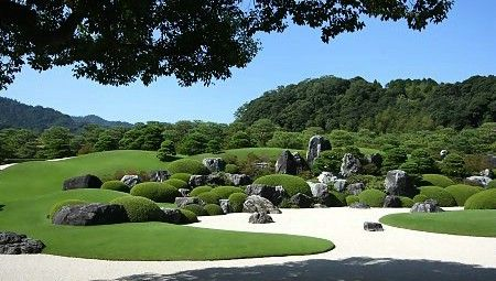 The Adachi Museum of Art is best known for its award winning garden.