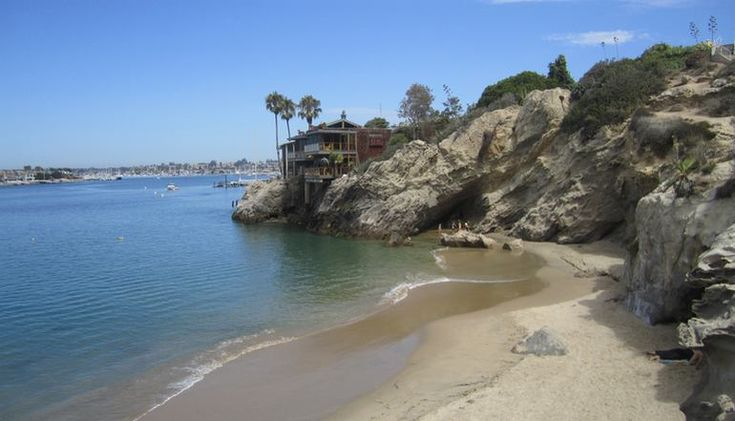Corona Del Mar Southern California Day Trip. Points of interest include Sherman Gardens, Big