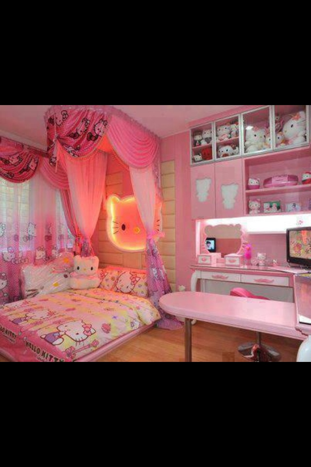 Hello Kitty bedroom 7 best HOME DECOR