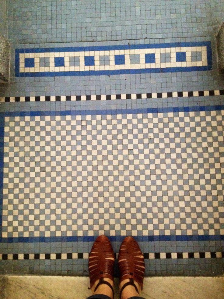 Farnesina tiles/Rome