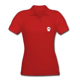 Totenkopf 3.0 Frauen Poloshirt Figurbetontes Poloshirt, für Frauen, 100% Baumwolle, Marke: Spreadshirt