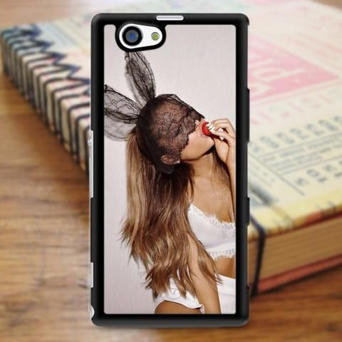 Ariana Grande Cute Rabbit Sony Experia Z3 Case