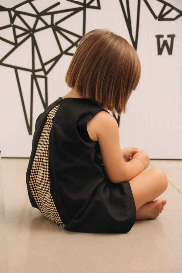 Open back dress by Motoreta SS14 kids fashion collection