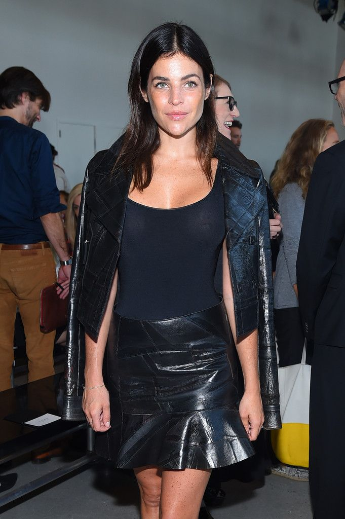 Calvin Klein Collection - Front Row - Spring 2016 New York Fashion Week: The Shows - Julia Restoin-Roitfeld