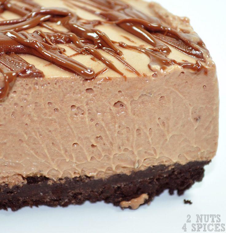 cheesecake de nutella zoom