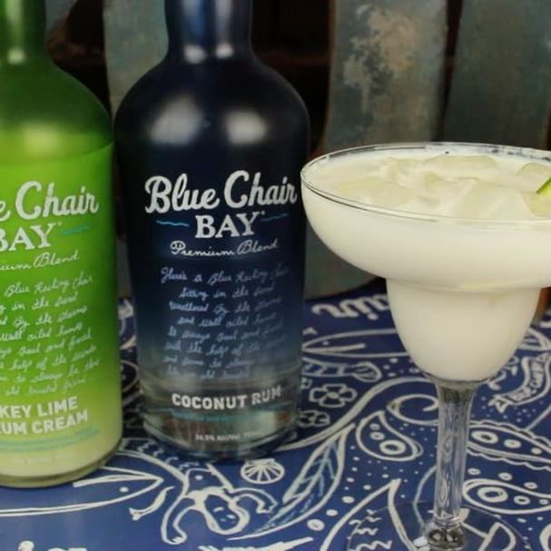 Transport yourself straight to Key West with this Mile 0 cocktail.  3 oz. Blue Chair Bay® Key Lime Rum Cream .5 oz. Blue Chair Bay® Coconut Rum .5 oz. silver tequila .5 oz. triple sec  Shake all ingredients in a cocktail shaker with ice. Pour into ice filled margarita glass. Garnish with a lime.