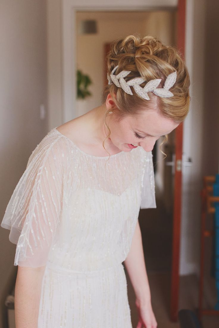 Real Bride <3 Wearing Eliza Jane Howell, Diana. Available at The Tailor's Cat, Cambridge 01223 366700