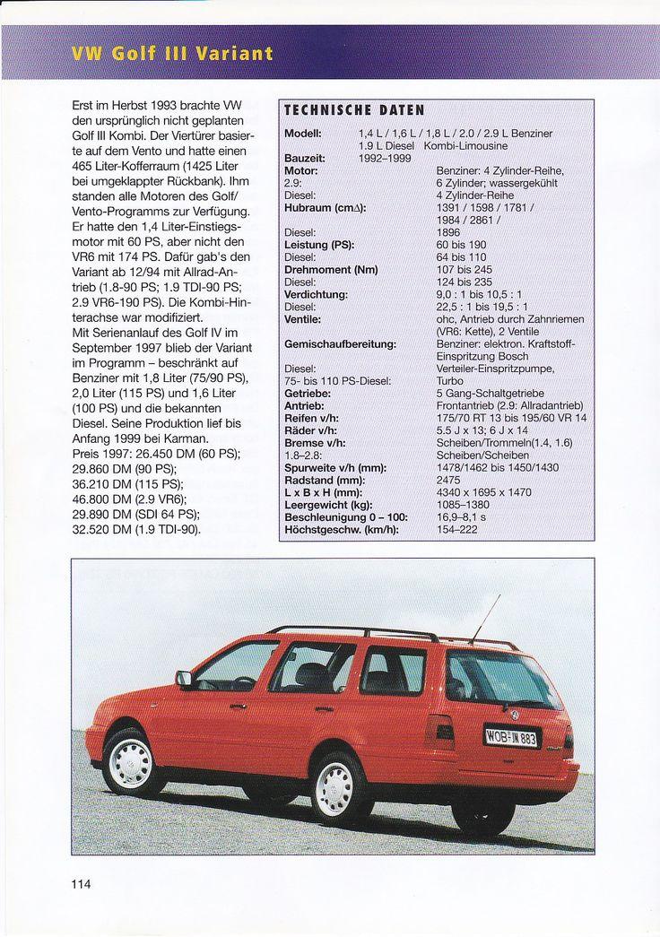 vw golf 3 variant 1.9 diesel