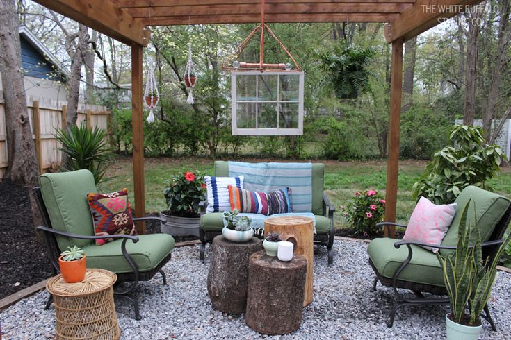 Advice for creating an outdoor living room #outdoorliving #summer #patio