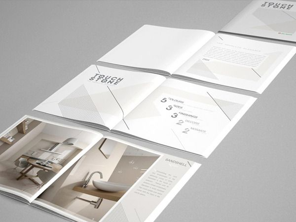 TouchStone Brochure for Niro Granite on Behance