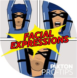 Pixton's Ultimate Guide to Customizing Character Facial Expressions