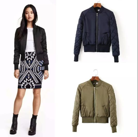 Best 25  Black bomber jacket womens ideas on Pinterest   Net ...