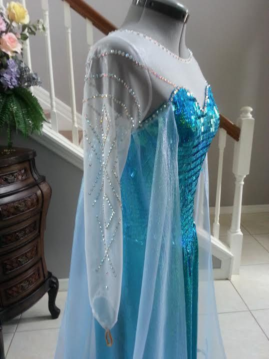Elsa Frozen Costume by PrestigeCouture on Etsy, $900.00
