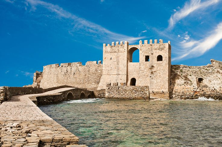 The venetian castle in Methoni!