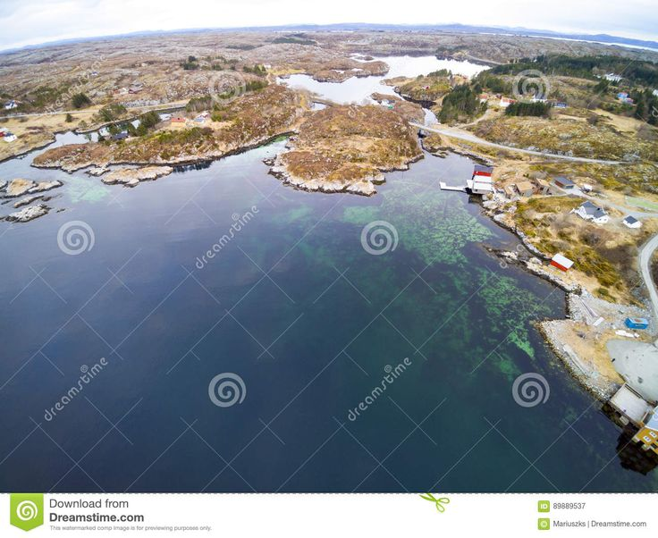 Fishing Bay In Early Spring, Norwegian Fjord From Above - Download From Over 57 Million High Quality Stock Photos, Images, Vectors. Sign up for FREE today. Image: 89889537