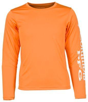 Columbia PFG Terminal Tackle Long-Sleeve T-Shirt for Boys - Koi - XXS