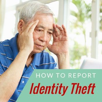 4 Steps to Report Identity Theft