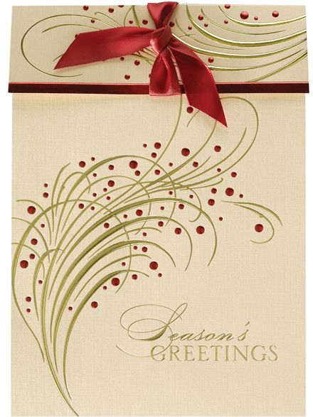 156 best christmasholiday cards for business and personal use wrapped with a red bow christmas greeting card discount greeting cards colourmoves
