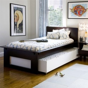 twin trundle bed dorm room