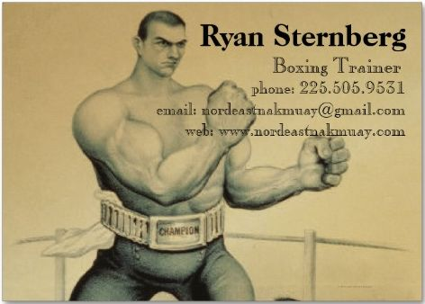 Nordeast Nak Muay is the home page for Northeast Minneapolis Muay Thai boxer, Ryan Sternberg. Ryan trains at The Cellar Gym and trains strength at Horsepower.