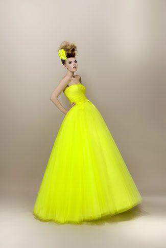 # 21 La robe de mariée fluo by Max Chaoul  #mariage