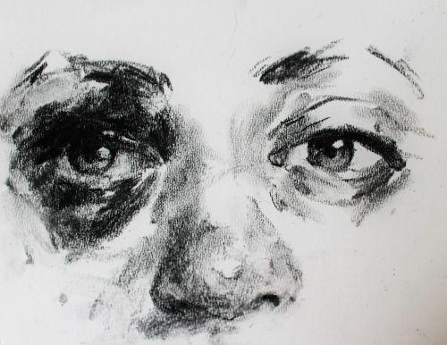 ellysmallwood:  Charcoal sketch