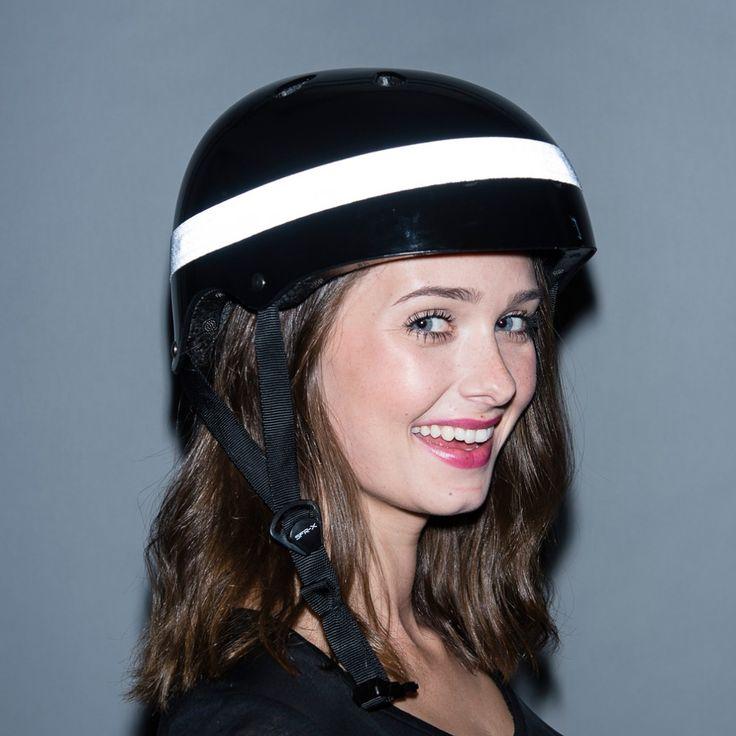 Lflect Reflective Elastic Helmet Band   Great Christmas Gift for cyclistsCyclechic   Cyclechic
