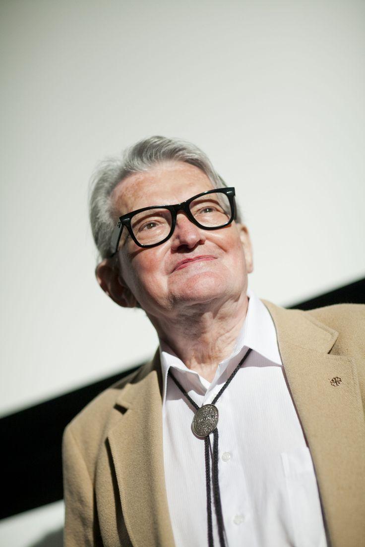 Legendary Czech director Vojtech Jasny in Zlín.