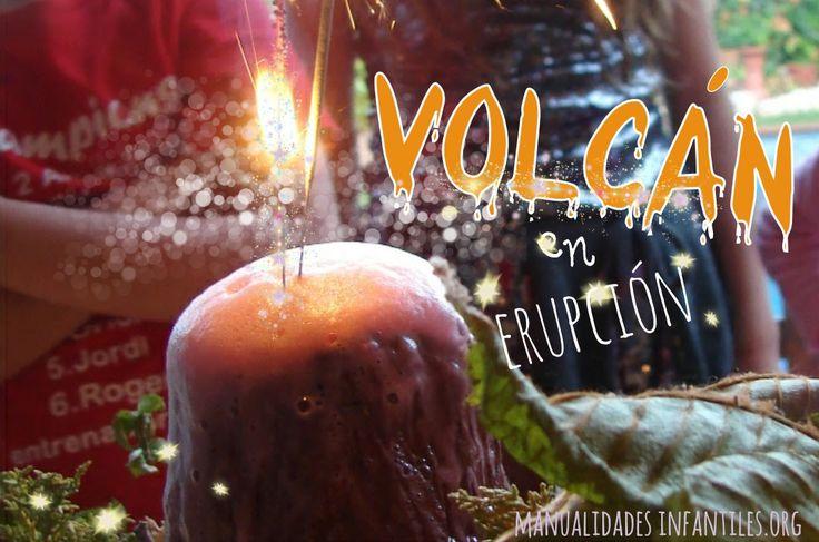 #Experimentosdivertidos para niños: Cómo hacer una #Erupcionvolcanica en casa