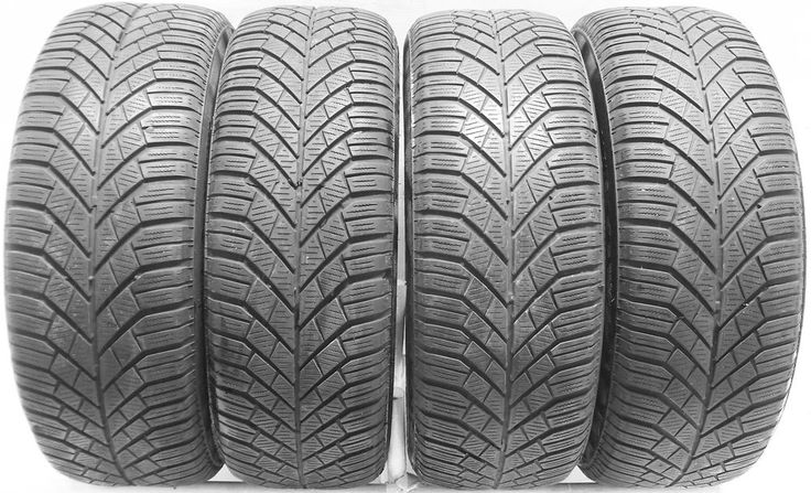 4 2055516 Continental 205 55 16 Used Part Worn Tyres Mud Snow Winter x4 91 TR