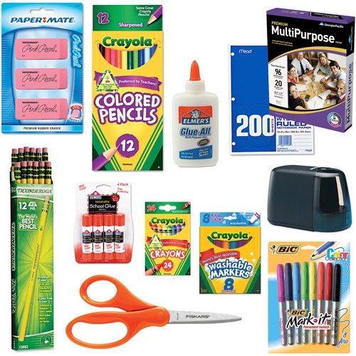 30 k 3rd grade starter school supplies bundle w free shipping to home at wal. Black Bedroom Furniture Sets. Home Design Ideas