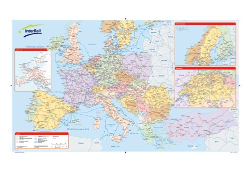 InterRail map 2013