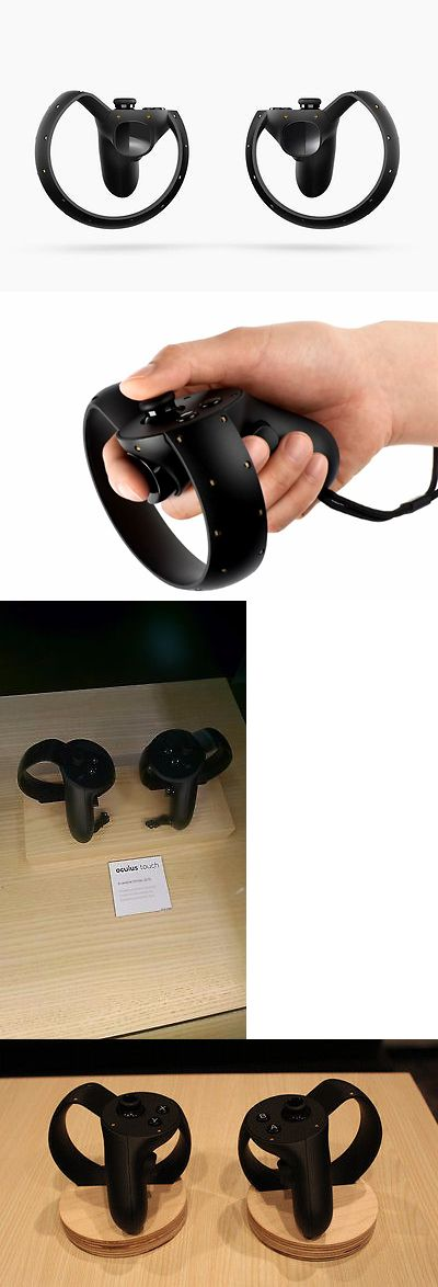 Controllers and Motion Sensors: Brand New Factory Sealed Oculus Touch Controllers - For Oculus Rift - Black BUY IT NOW ONLY: $149.99