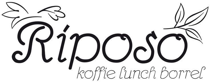 Logo for Riposo, Amersfoort. Italian lunch & specialities.