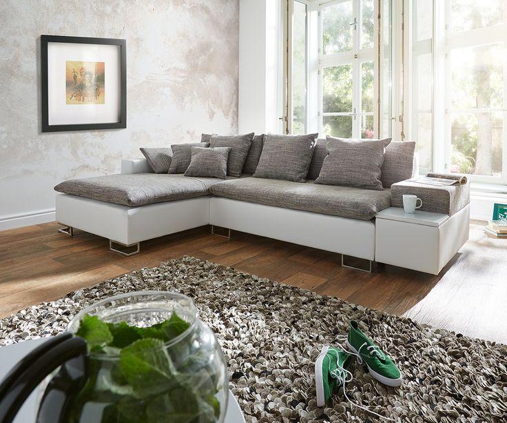 104 besten Sofaträume Bilder auf Pinterest Schlafsofa leder - wohnzimmer couch weis grau