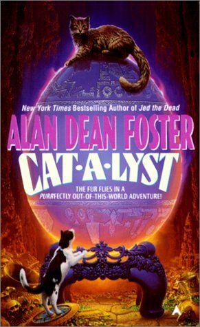 Cat-a-Lyst by Alan Dean Foster http://www.amazon.com/dp/0441646611/ref=cm_sw_r_pi_dp_pi0rwb1R0AFVC
