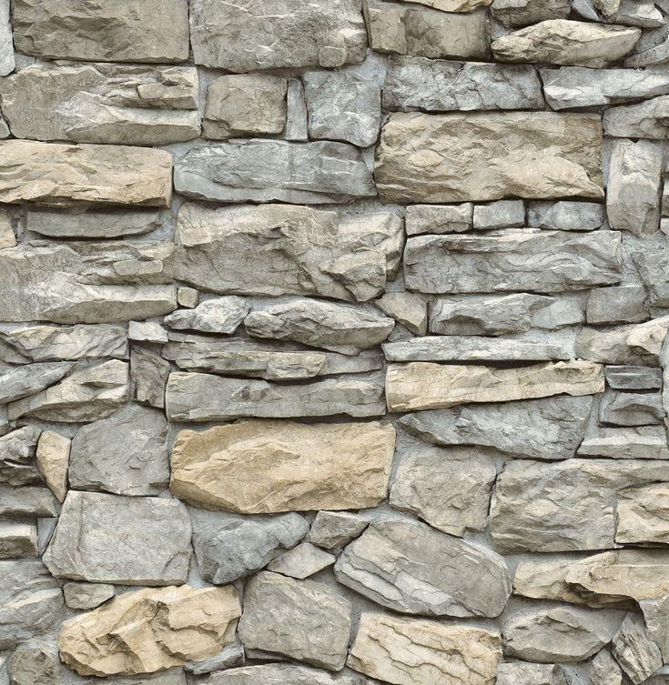 InHome Kilkenny Stone Peel & Stick Wallpaper - Walmart.com ...