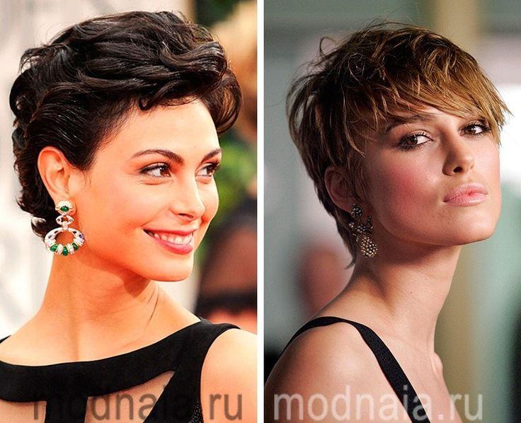 Стрижки женские короткие кудрявые волосы