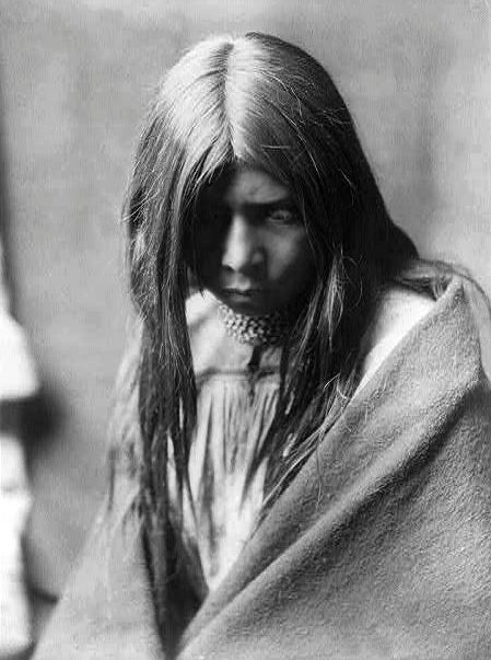 Zosh Clishn, Apache Nation c.1906....Edward Sheriff Curtis