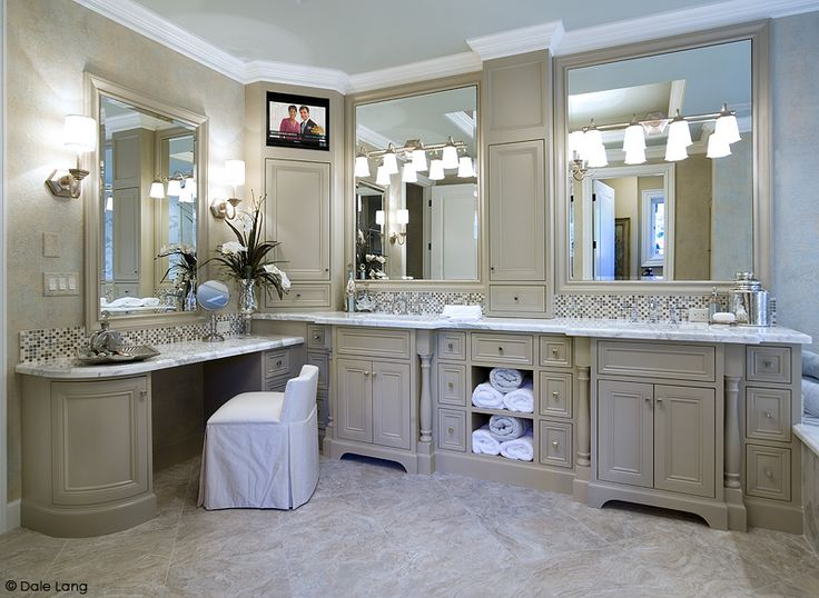 Master Bathroom Vanity. Because I can't sit on the bathroom counter to do my makeup forever.