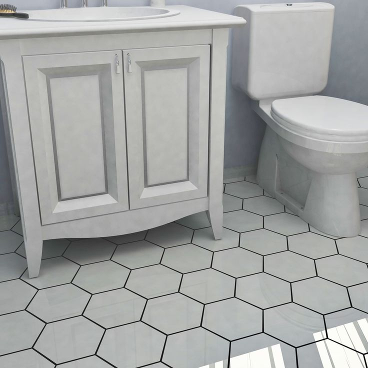25+ Best Ideas About White Hexagonal Tile On Pinterest